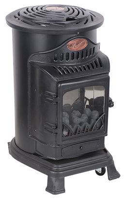 Estufas y calefactores para exteriores y climatizaci n de for Portable indoor wood stove