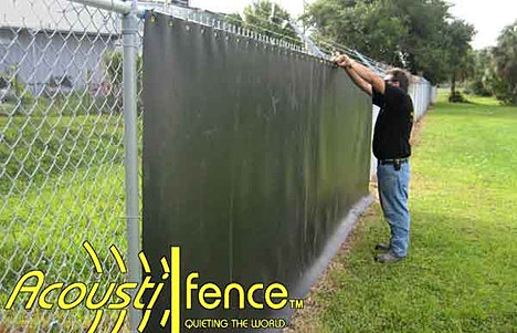 Noise Reducing Fence Cover Solid Amp Pattern Designed Screens