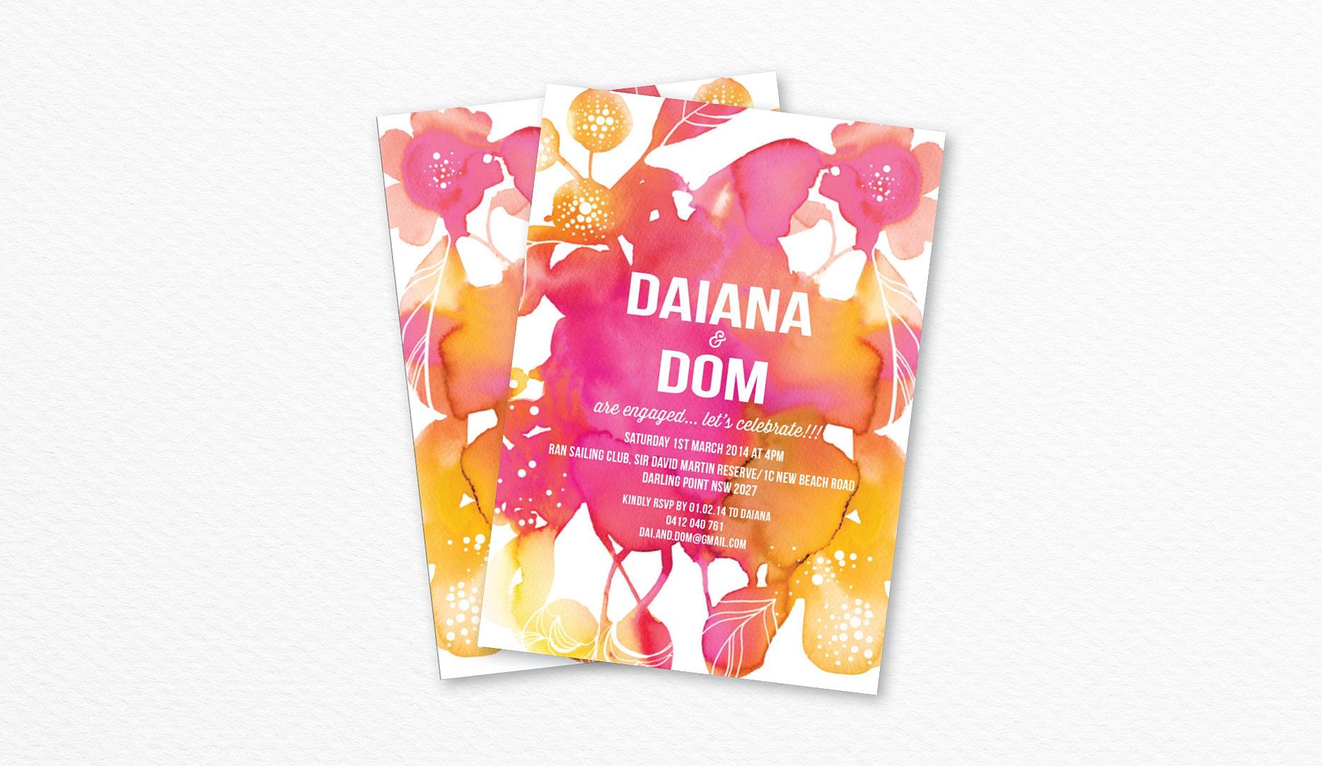 Custom Design Invitations is good invitation sample