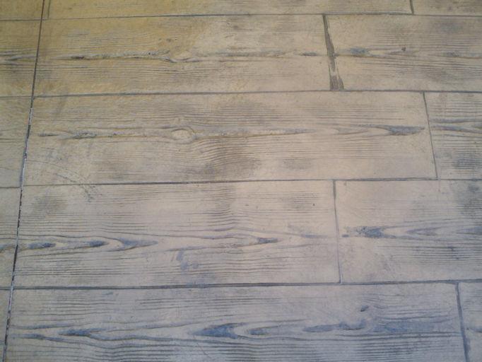 Global de pavimentos hormigon impreso microcemento - Madera blanca envejecida ...