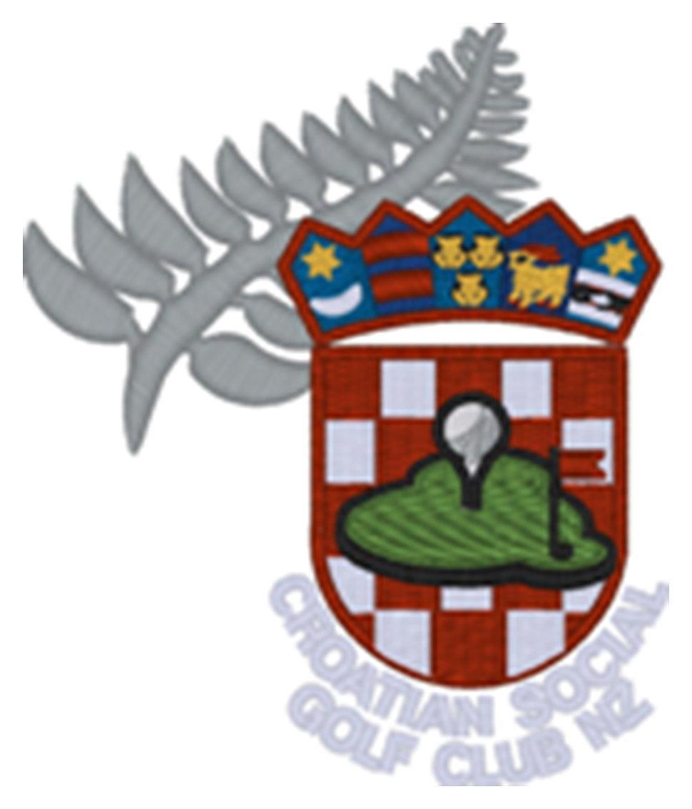 Croatian Social Golf Club Logo
