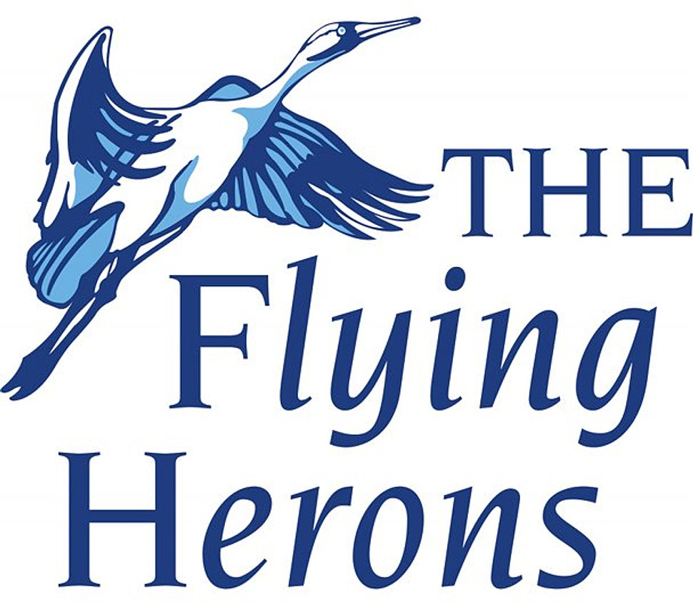 The Flying Herons Logo