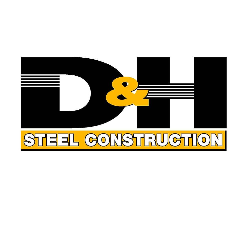 D&H Steel Construction logo
