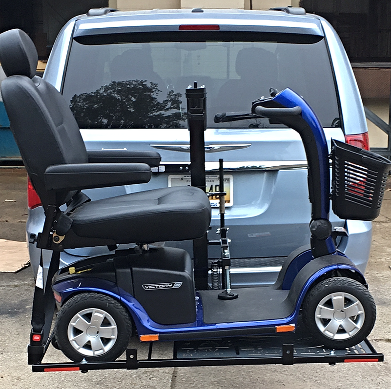Wheelchair carrier for Motorized wheelchair lifts for cars