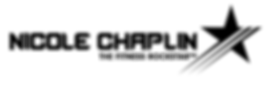 Nicole Chaplin Logo Star Black Slogan tr