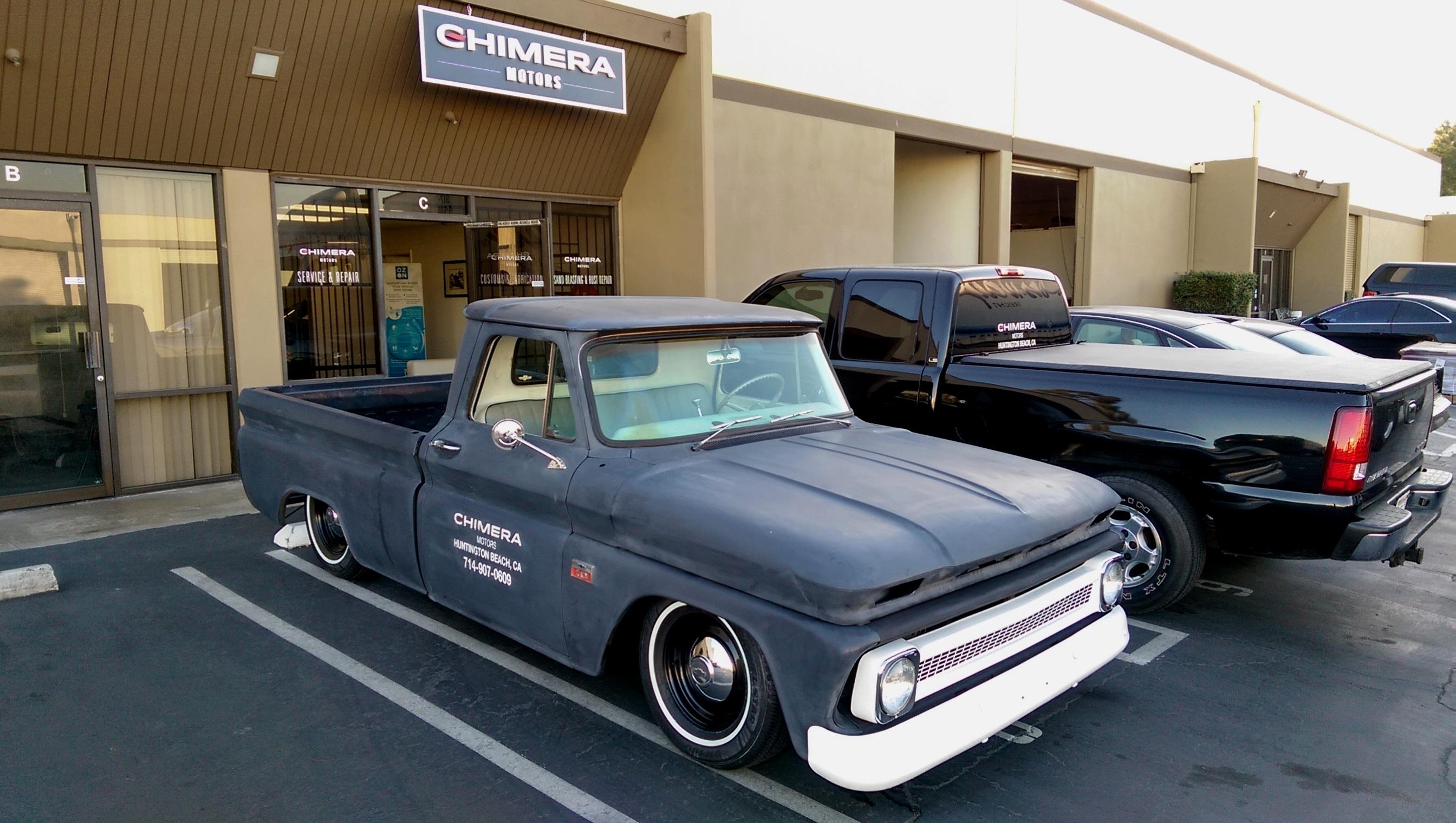 66 C10 eBay shop truck   #1 Classic Car Restoration Orange County ...