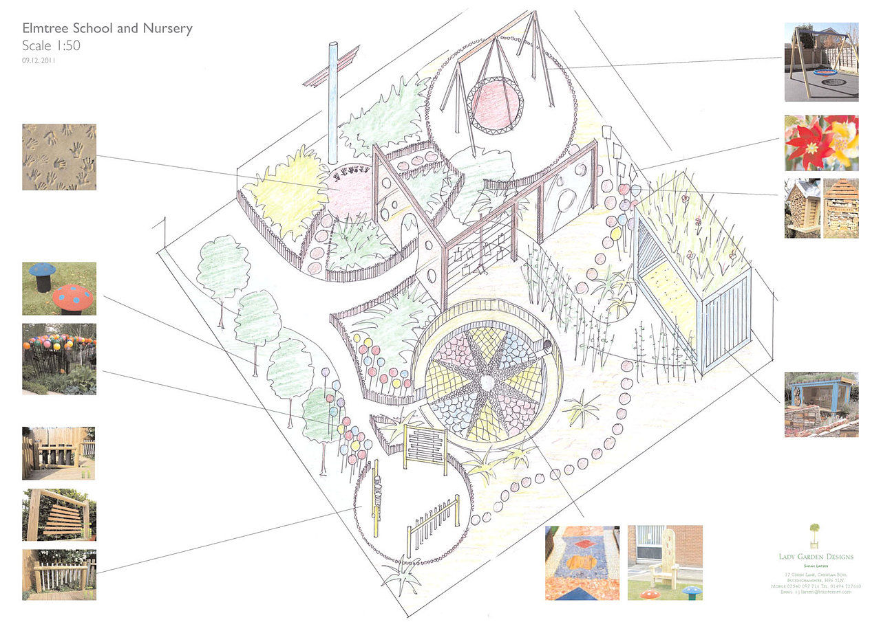 Lady garden designs sarah larsen garden design amersham for School garden designs