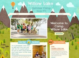 자연사랑 여름캠프 Template - 활기찬 학생들과 밝은 배경 이미지가 잘 어우러진 의 이 템플릿으로 어린이 캠프 및 봉사단체를 위한 홈페이지를 제작하세요. 캠프 분위기에 따라 이미지와 텍스트를 변경하고, 등록 버튼을 추가해 방문자들의 참여를 유도하세요.