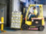 Einlagerung MSDT International Logistikd