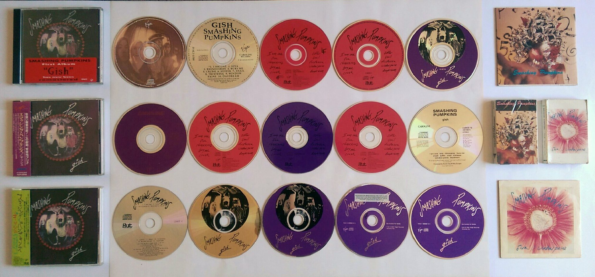 Memorabilia Monday 25 Years Of Gish The Official