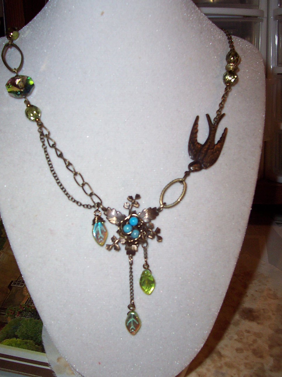 """Flight of Fancy"" Necklace"