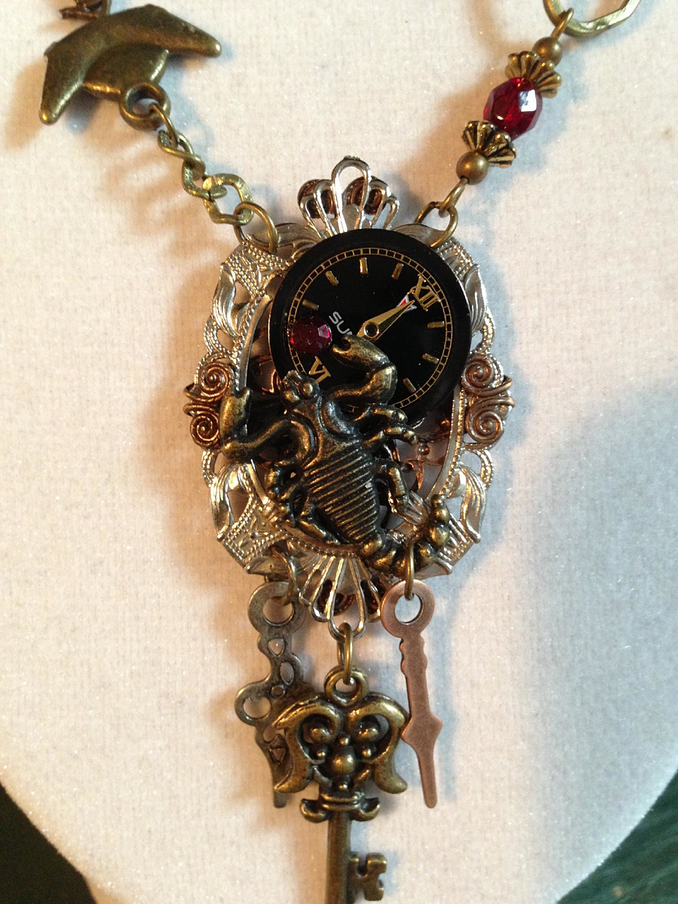 Close up of Scorpion Steampunk