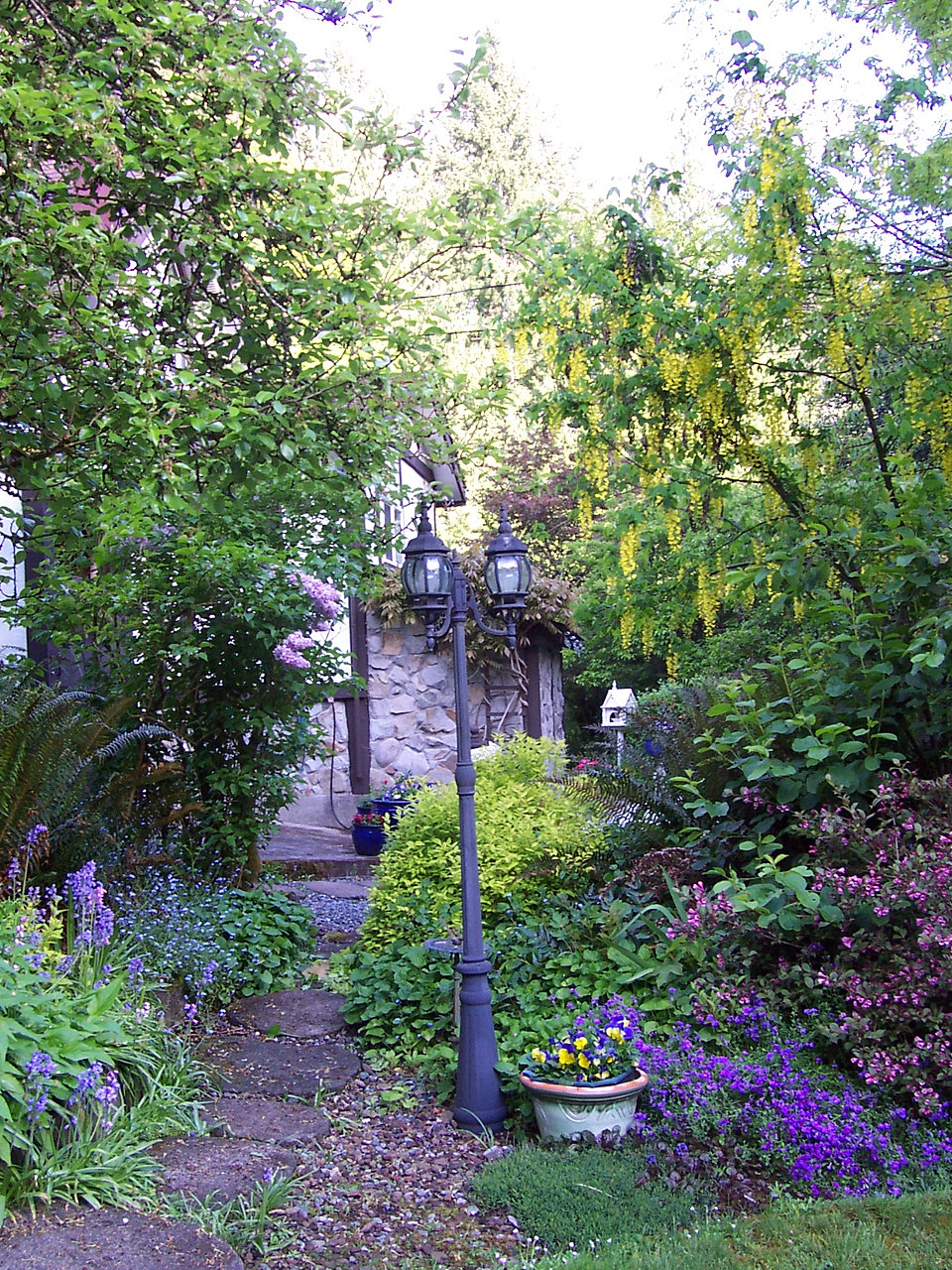 Along the Garden Path