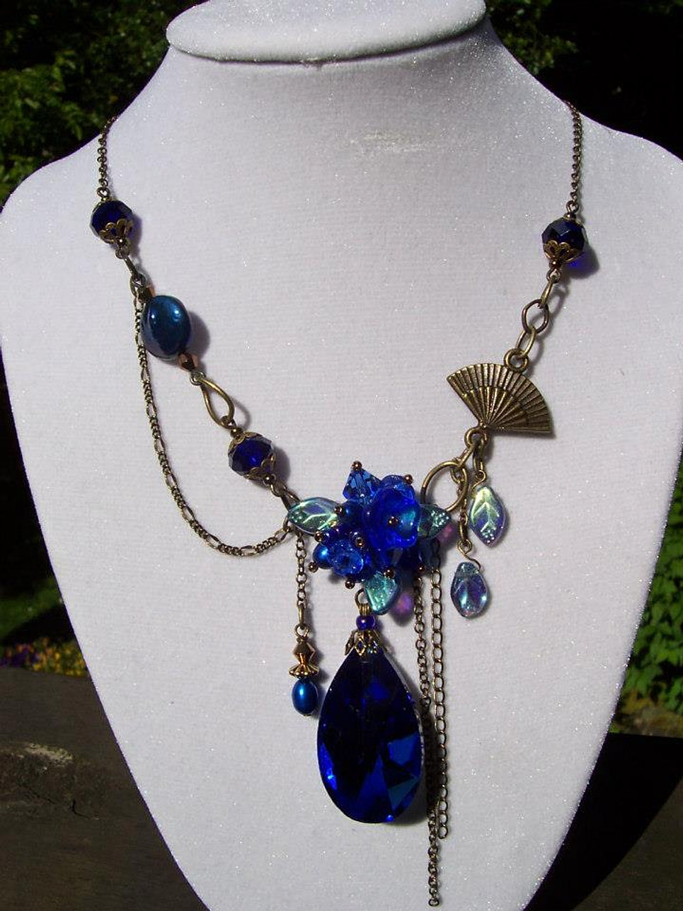 """Midnight Blue"" Necklace"