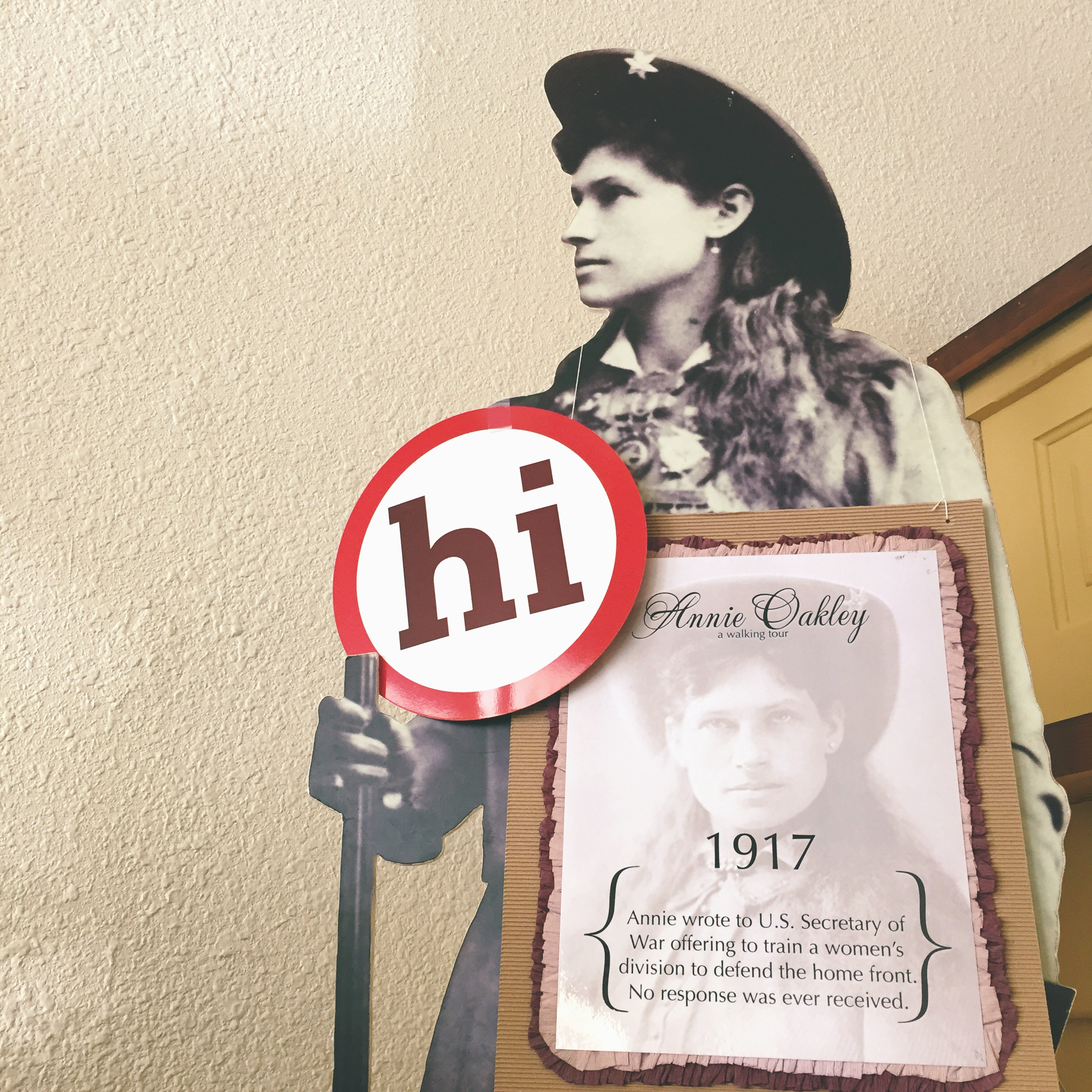 changes for women during annie oakley s Say the name annie oakley and the image of a young woman who could  in  colonel cody's vaudevillian tour, but there was more to annie.