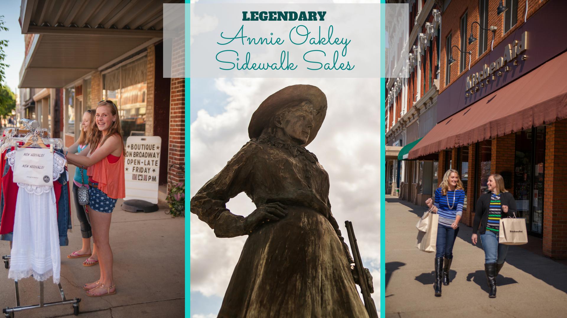 annie oakley sidewalk sale 2014