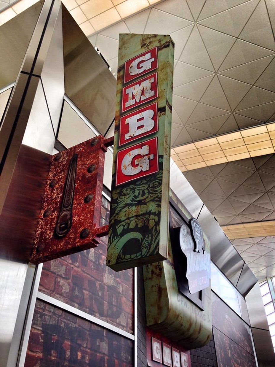 Gas Monkey Bar N Grill Blade Sign