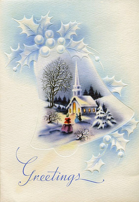 Картинки открытки зима церковь