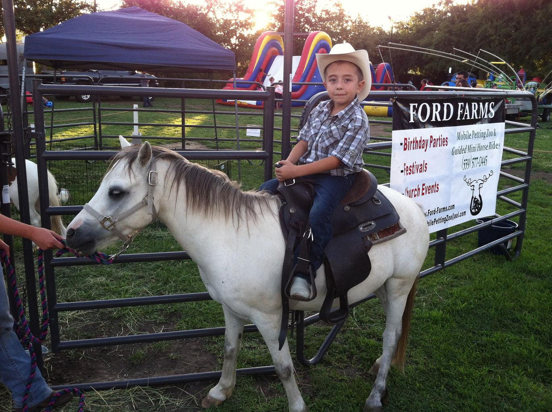 Ford Farms Pony Rides