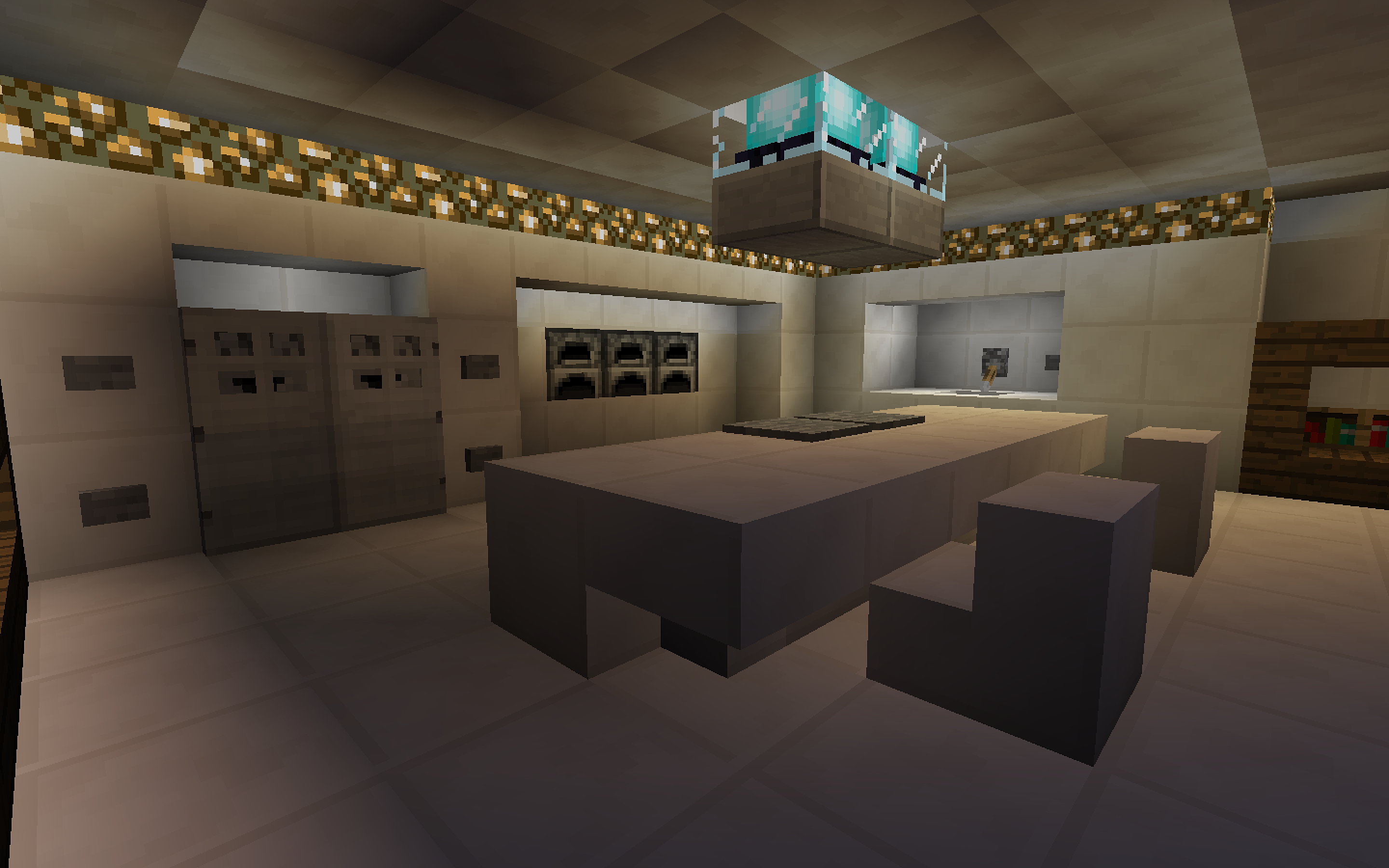 Minecraft Modern Kitchen Minecraft Furniture Modern Kitchen