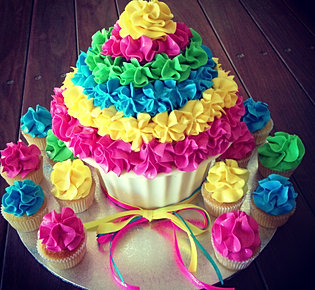 Cupcake Chic custom cakes & giant cupcakes perth, wa