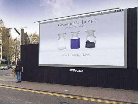 A billboard advert