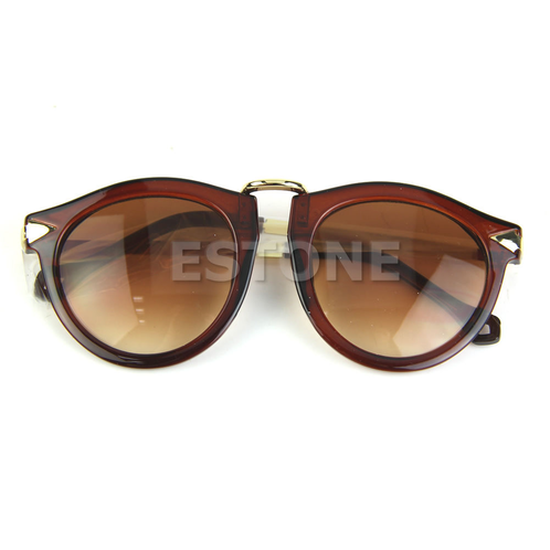 NEW Fashion Vintage Round Frame Sunglasses clarebest
