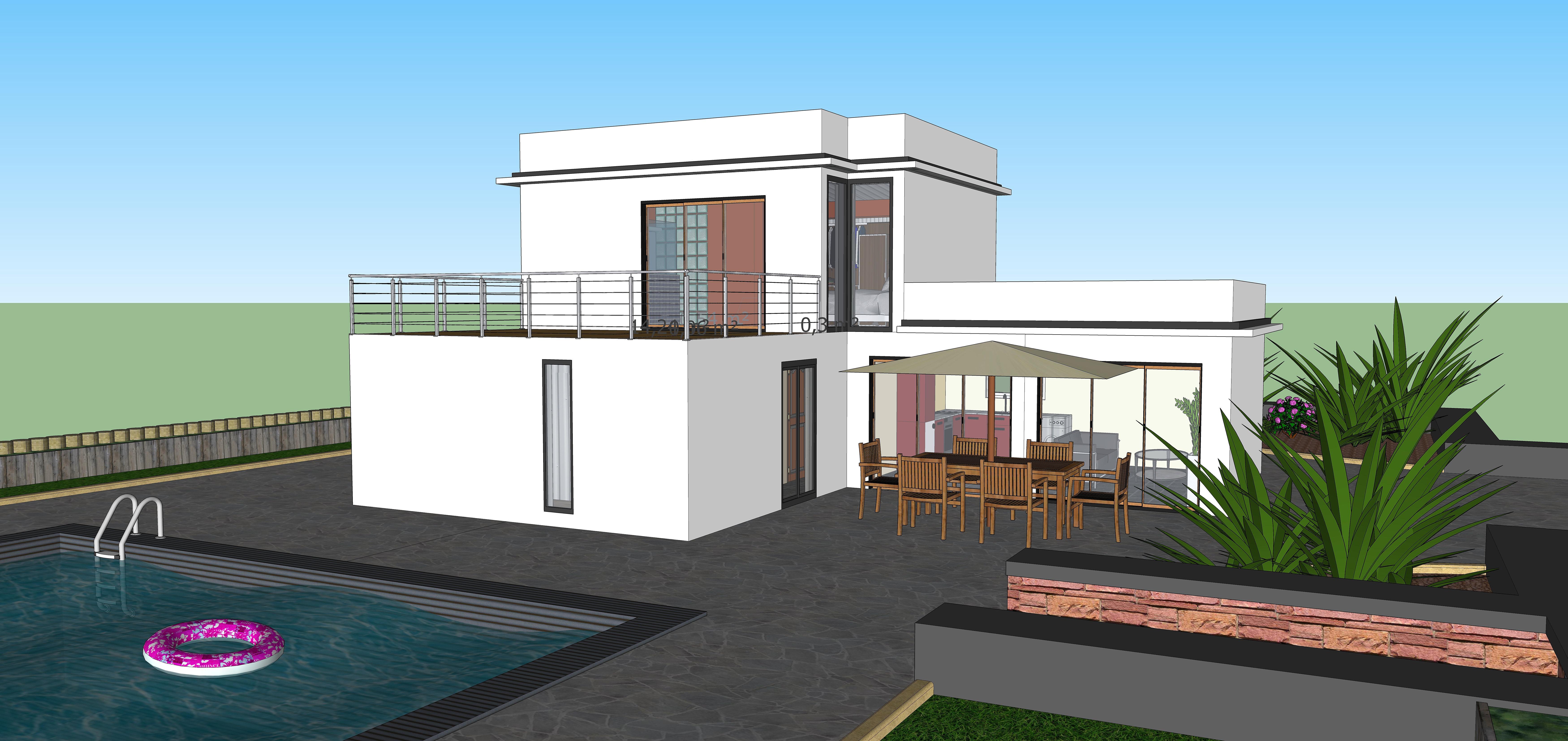 Constructeur maison individuelle reunion maison moderne for Constructeur maison moderne reunion