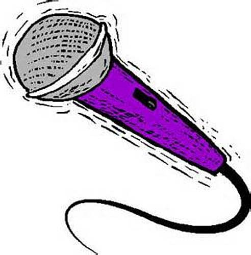 Clip Art Microphone Clipart microphone open mic logos clipart snowjet co share microphone