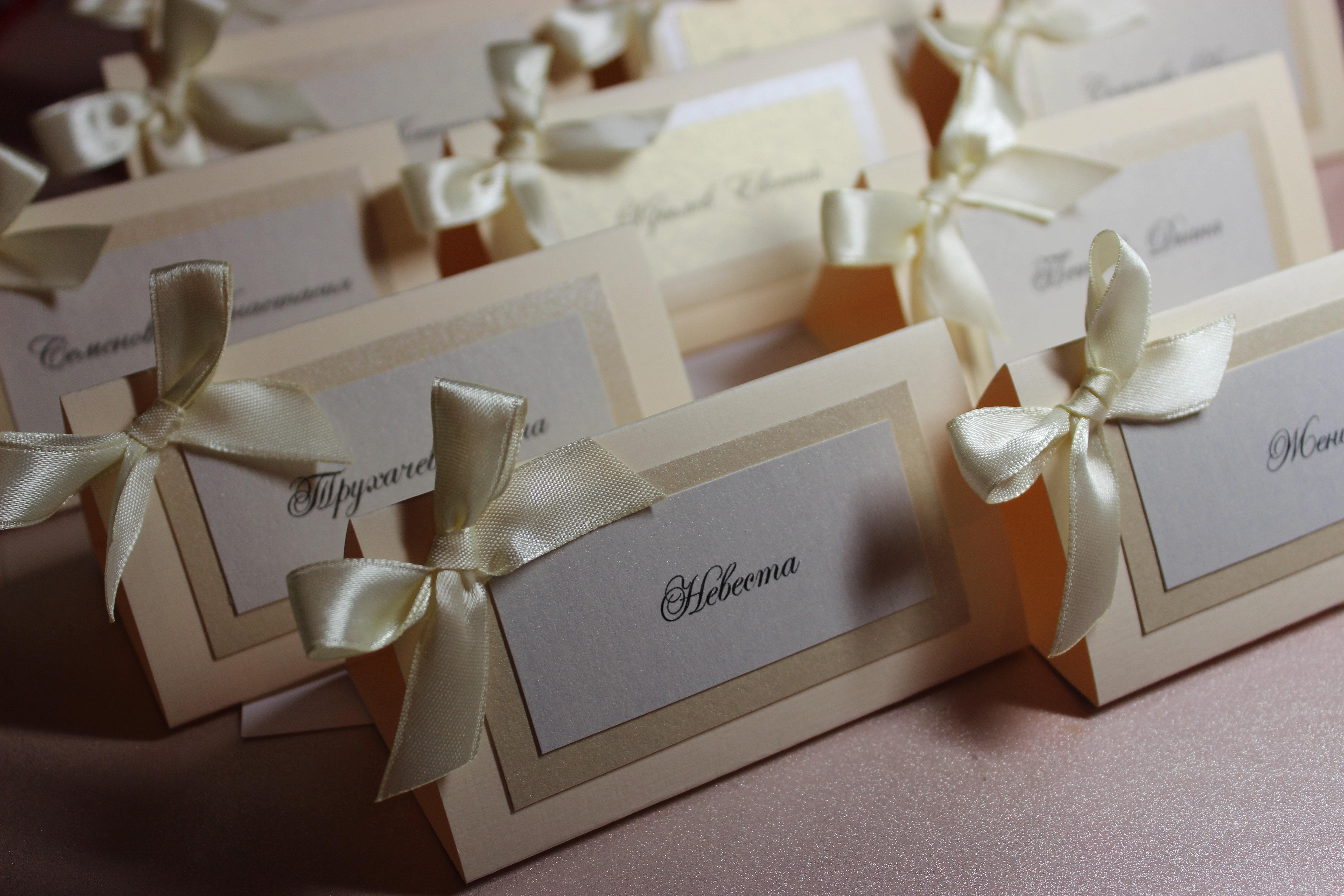 Как сделать рассадочные карточки для свадьбы