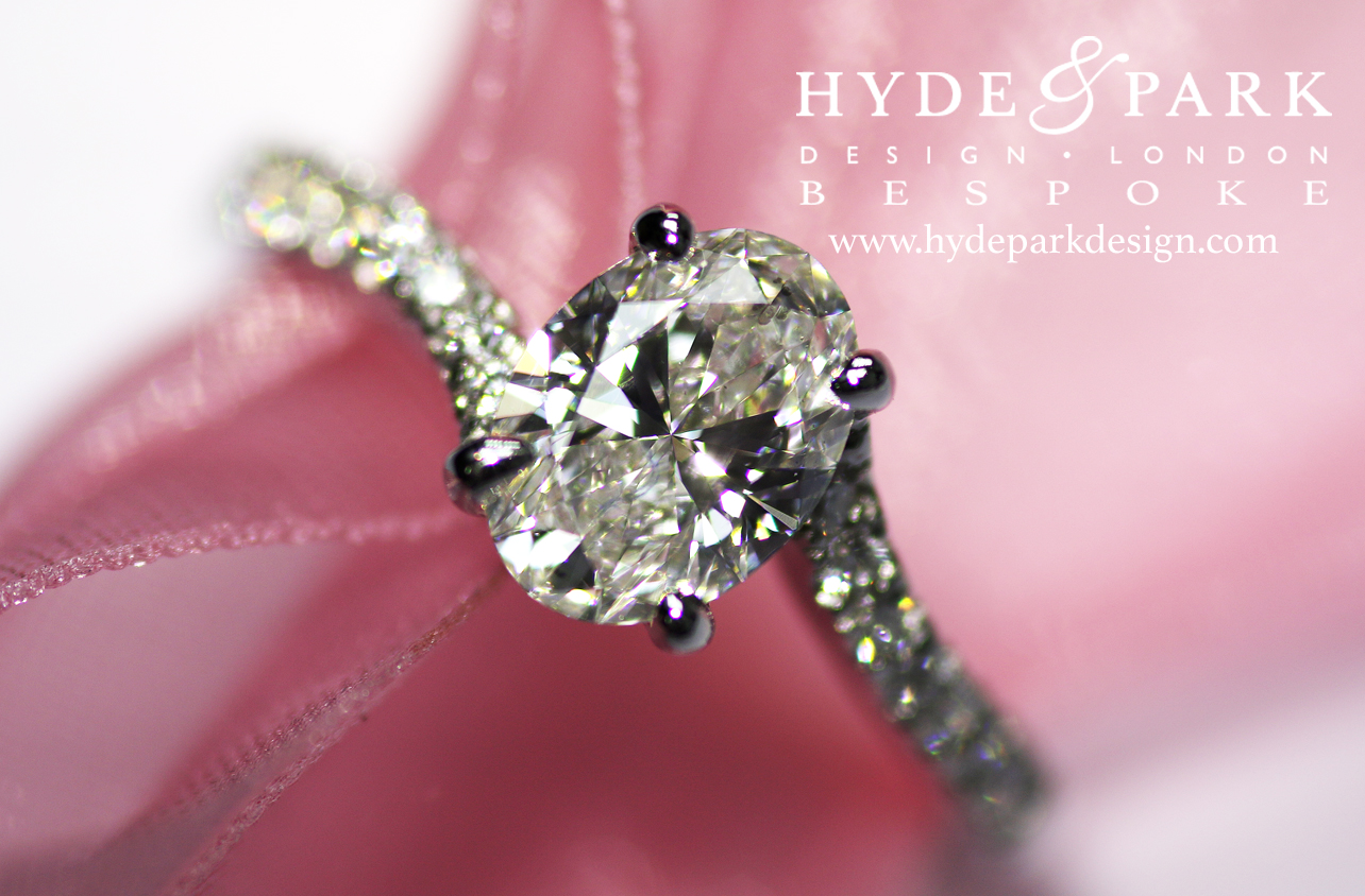 How To Design Your Engagement Ring To Make Your Diamond Look Bigger ...