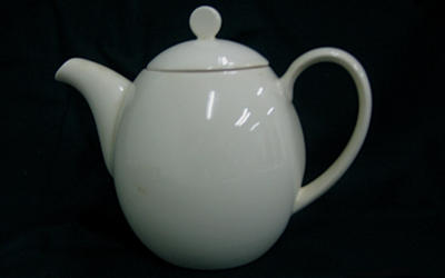 Natural Ivory Teapot