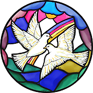 Winged Heart Stained Glass