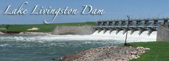 Lake Livingston Dam, 12/17/15... - YouTube