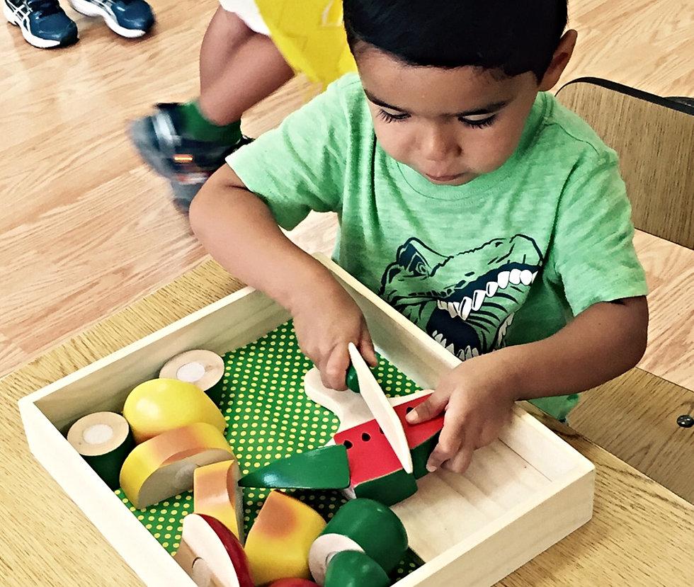 Practical Life Program At Montessori American School