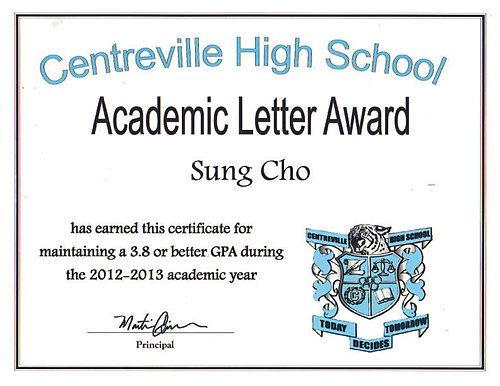academic letter award 2012 2013jpg