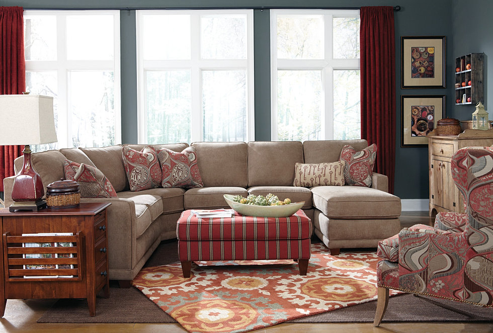Charming Kennedy Sectional