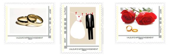 vous tes sur le point denvoyer vos faire part montimbramoi est l pour faire de cet envoi un moment unique et votre image - Timbres Personnaliss Mariage