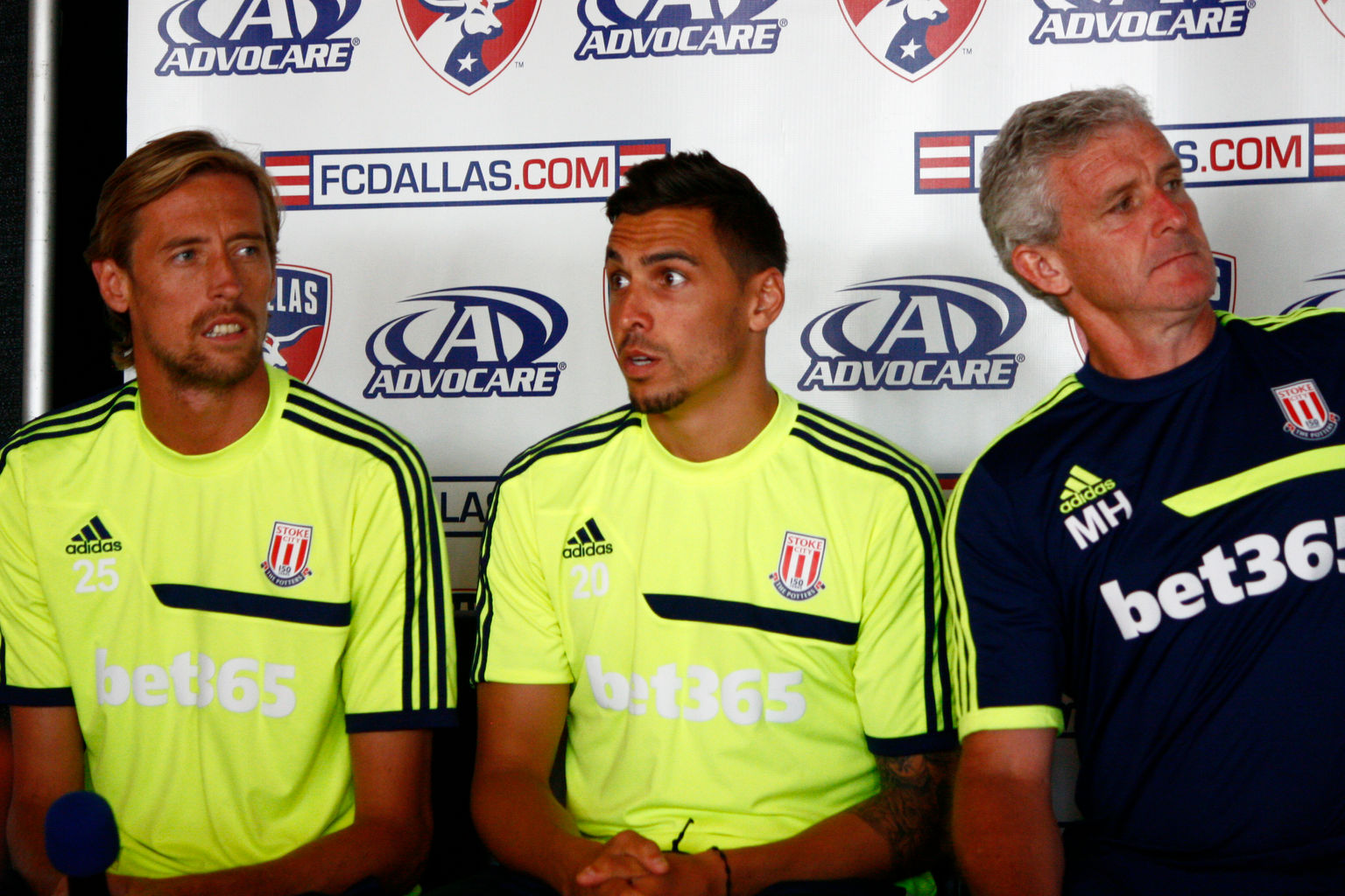 Peter Crouch Geoff Cameron and