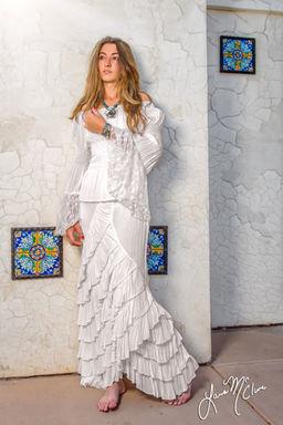 Western Wedding Dresses by Marrika Nakk