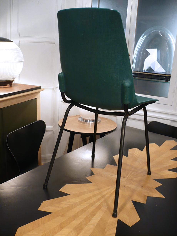 chaise vintage chaise verte artchiarty marseille. Black Bedroom Furniture Sets. Home Design Ideas