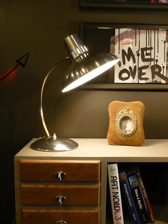 Lampe vintage artchiarty marseille - Interrupteur lampe de bureau ...