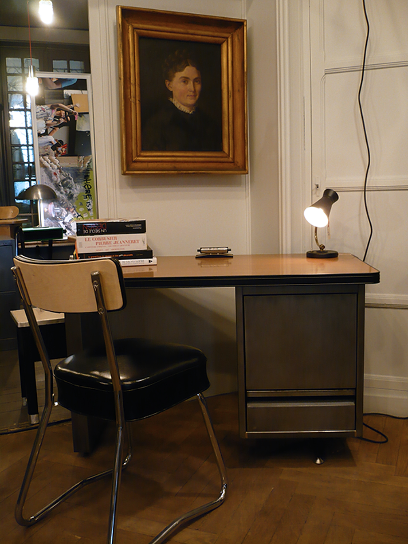 mobilier vintage chaise de bureau artchiarty marseille. Black Bedroom Furniture Sets. Home Design Ideas