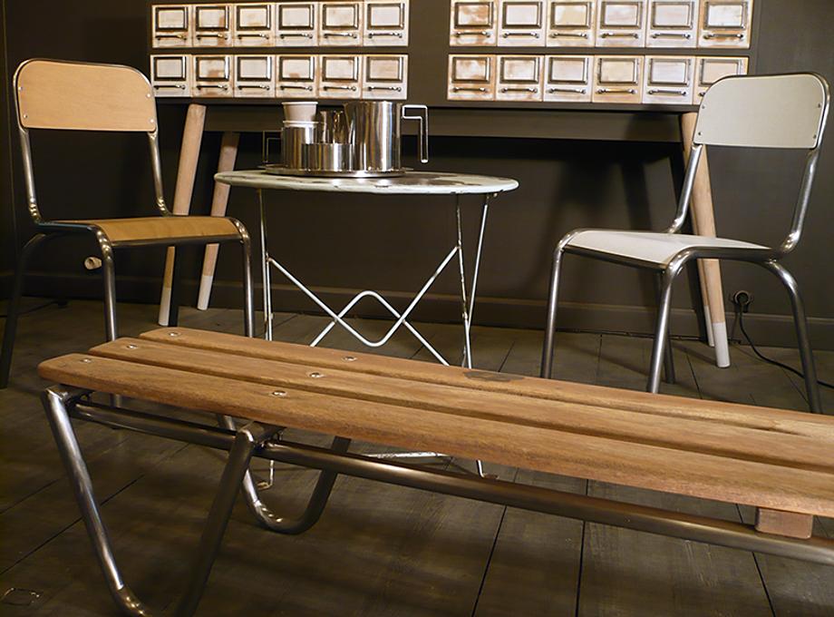 artchiarty table vintage marseille. Black Bedroom Furniture Sets. Home Design Ideas