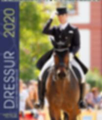 Sportkalender Dressur 2020 der Edition Boiselle