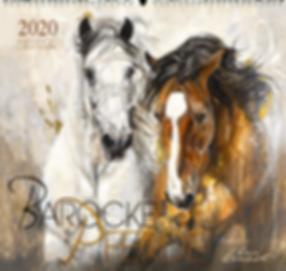 Kalender Barocke Pferde 2020 der Edition Boiselle