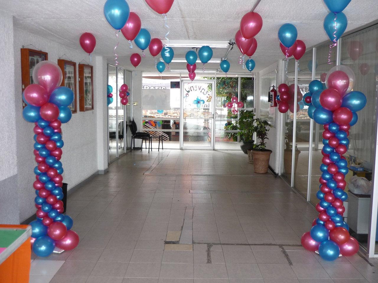 Decoracion con globos para 15 a os en jardin for Decoracion en jardin para 15 anos