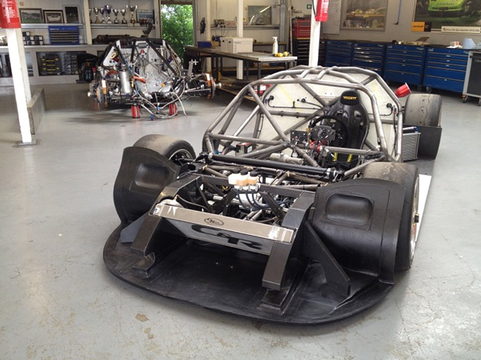 how to build a tube chassis race car