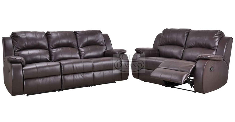 ANYA LEATHER SOFA
