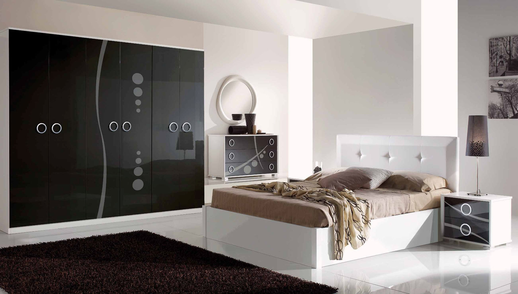 METROPOLIS BEDROOM SET